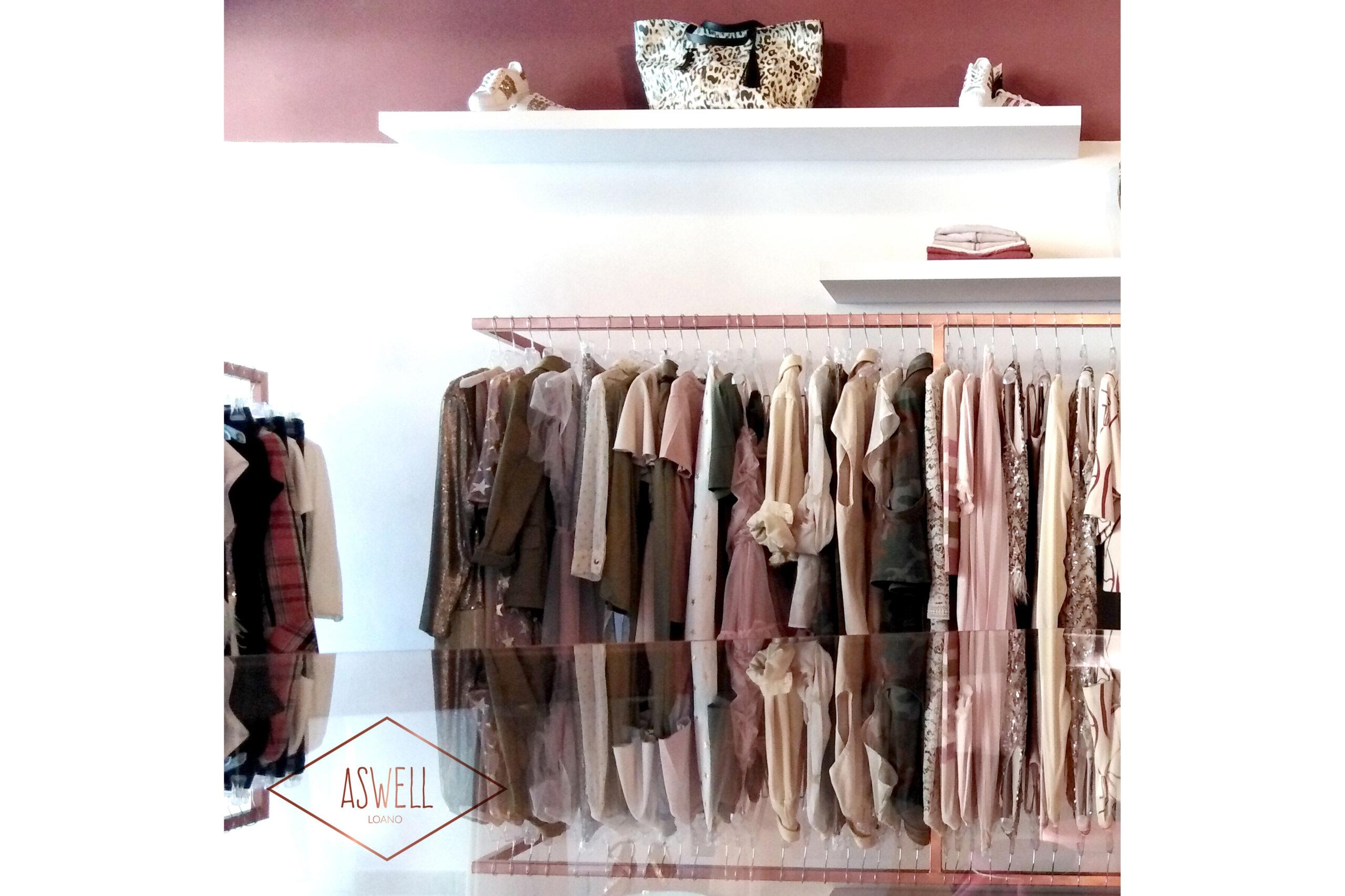 ASWELL negozio di abbigliamento – LOANO